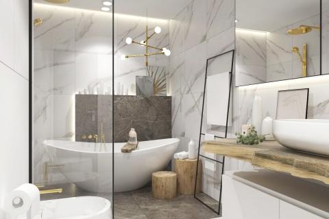 Projekt i realizacja łazienki w Starogardzie