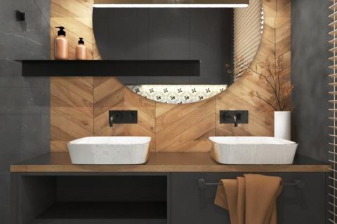 Projekt łazienki w Katowicach II