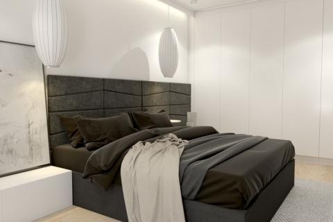 Projekt sypialni w Berlinie
